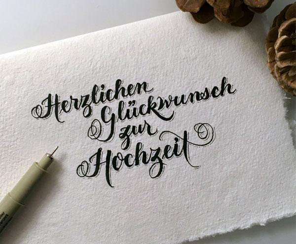 Calligraphy für Events