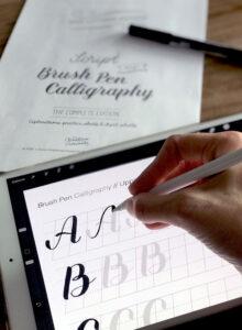 CS_BasLettWB-Script&Brush_iPad