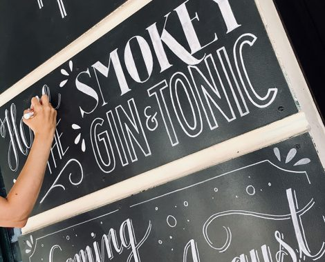 Chalkboard Design BRYK Bar